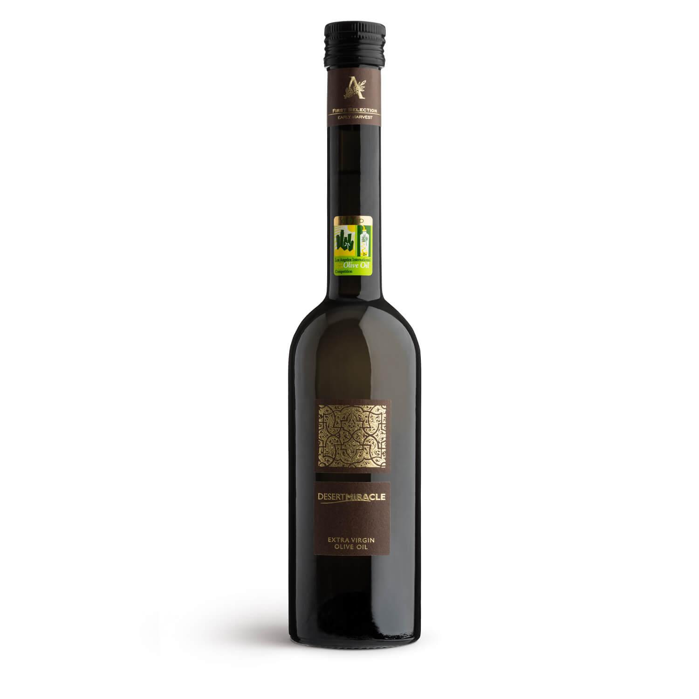 Desert Miracle Ultra-Premium Organic Extra Virgin Olive Oil 500ml glass bottle