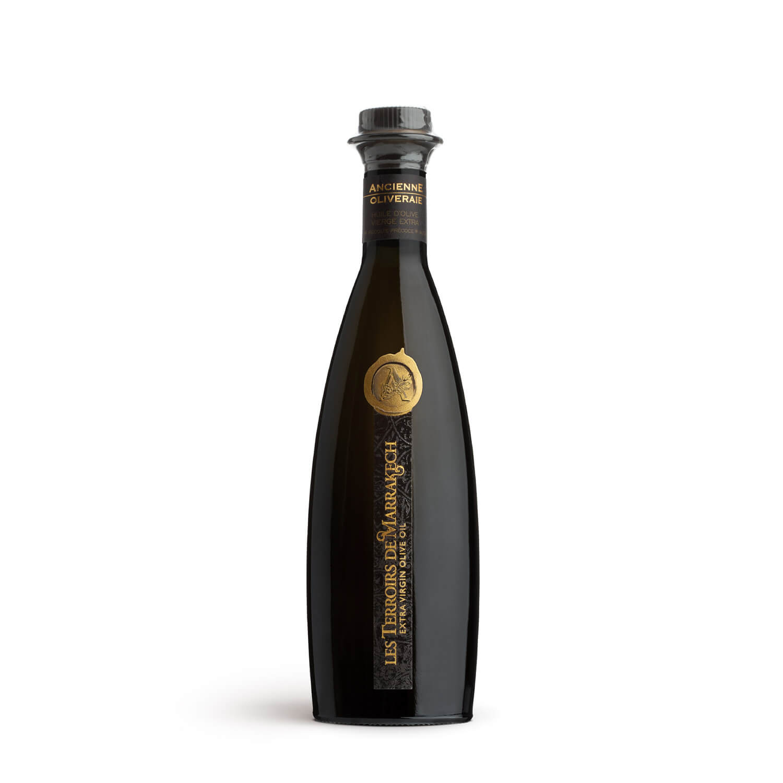 Les Terroirs de Marrakech Ultra-Premium Organic Extra Virgin Olive Oil 250ml glass bottle