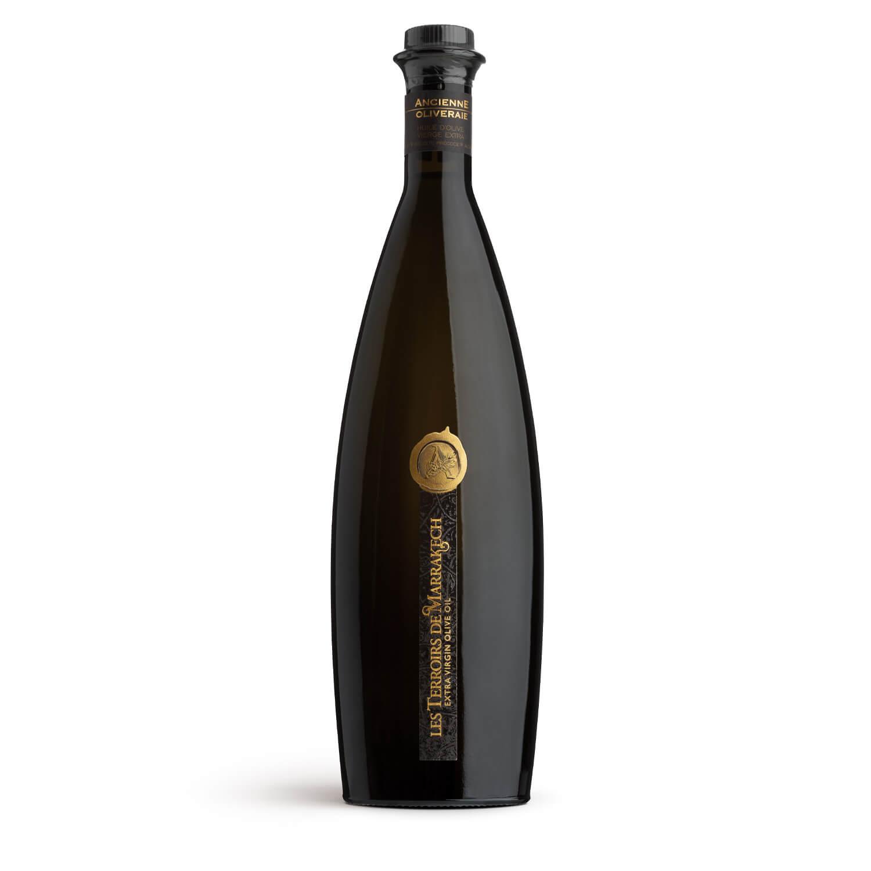 Les Terroirs de Marrakech Ultra-Premium Organic Extra Virgin Olive Oil 500ml glass bottle
