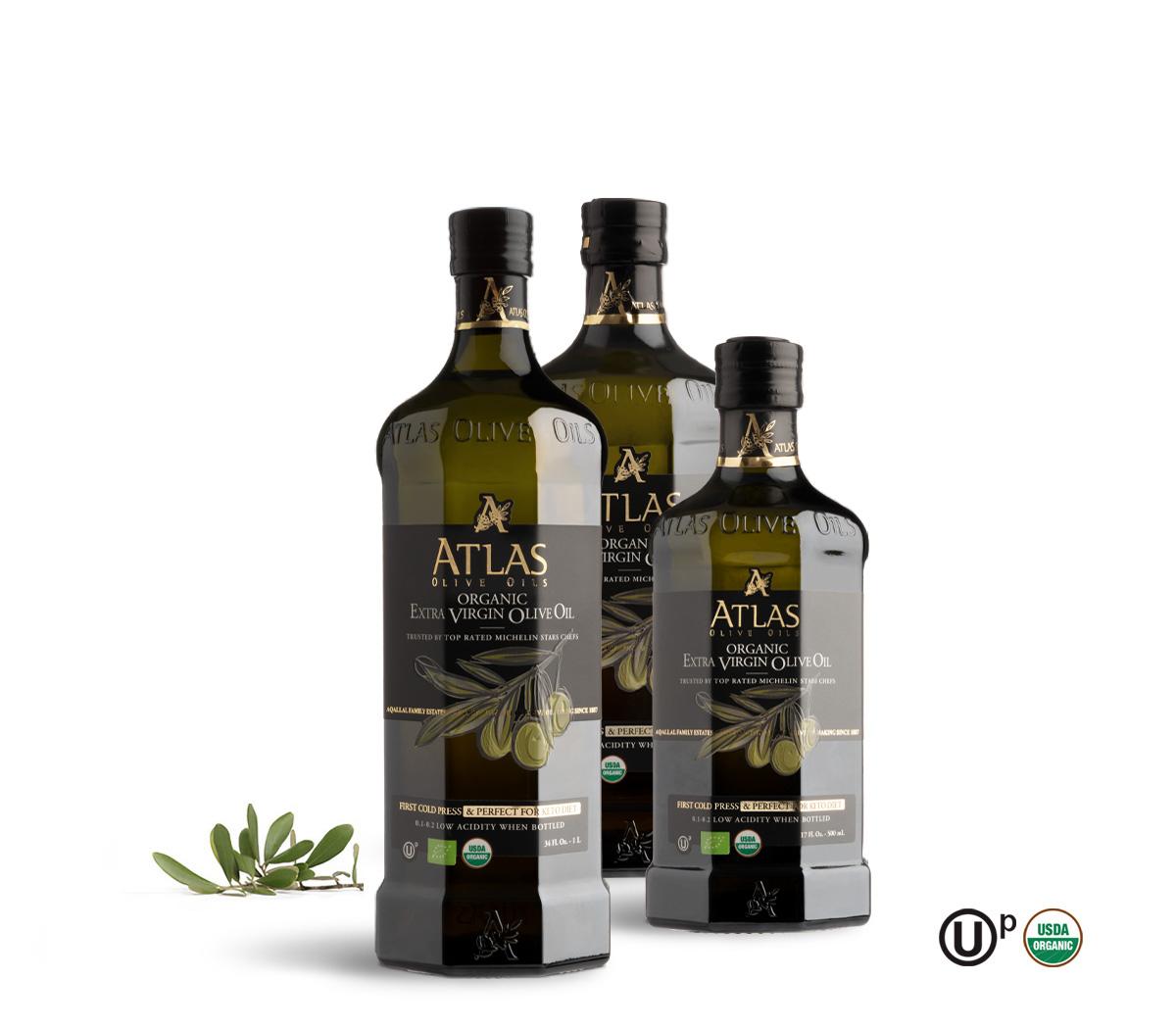 ATLAS Premium Organic Extra Virgin Olive Oil